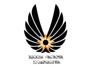 Flagge des Antiker-Militärs mady by Shahar